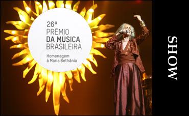 26° Prêmio da Música Brasileira Homenagem a Maria Bethânia