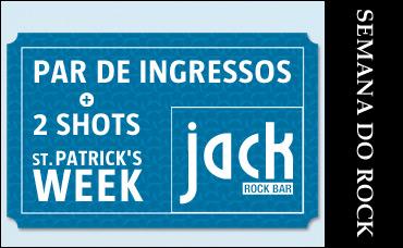 St. Patrick's Week no Jack Rock Bar - 18/03