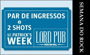 St. Patrick's Week no Lord Pub - 18/03