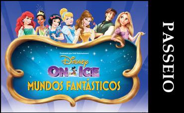 DISNEY ON ICE - PASSEIO NO BARCO