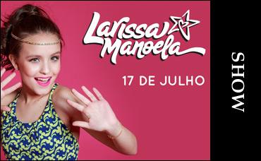 SHOW - LARISSA MANOELA   Clube A 425376a192