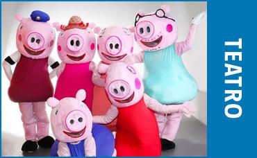 TEATRO - AS AVENTURAS DA FAMÍLIA PIG