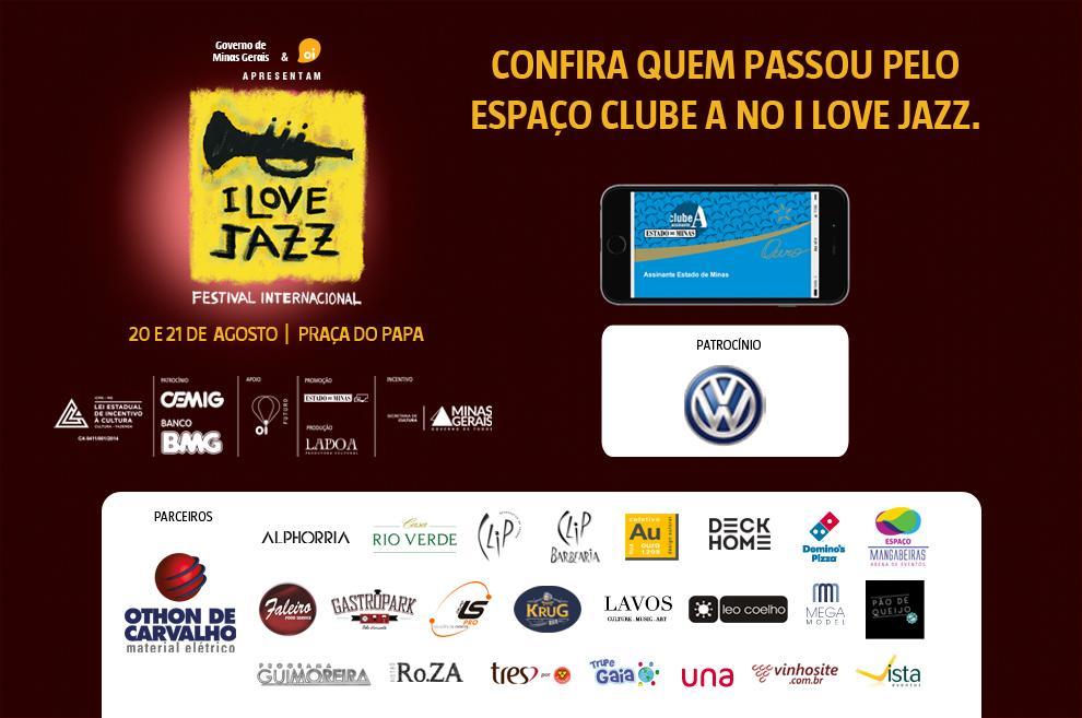 Convidados curtem o melhor do jazz no Espaço Clube A, no I Love Jazz.